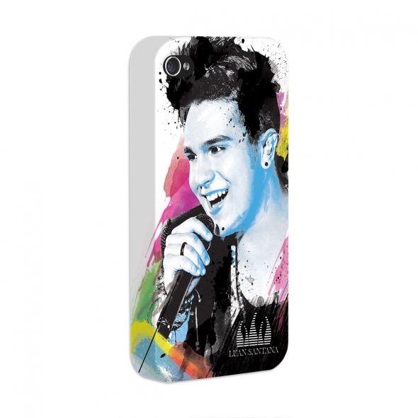 Capa de iPhone 4/4S Luan Santana - Foto Colors