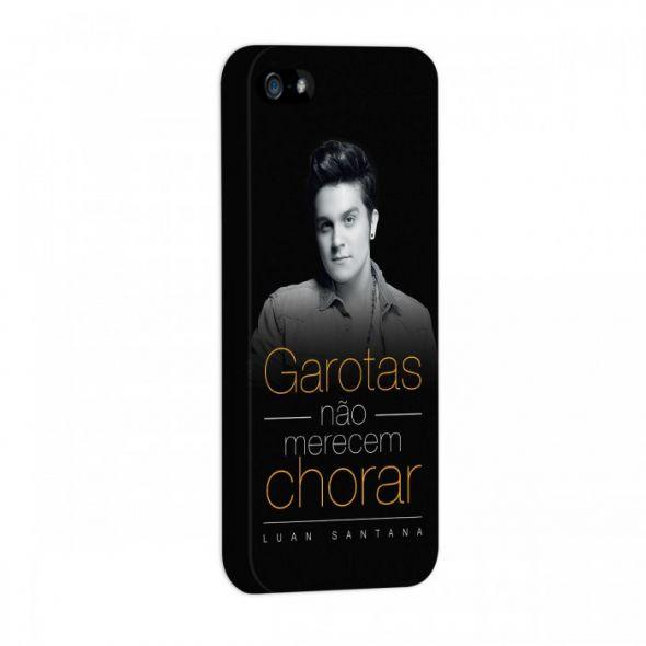 Capa de iPhone 5/5S Luan Santana - Garotas Não Merecem Chorar