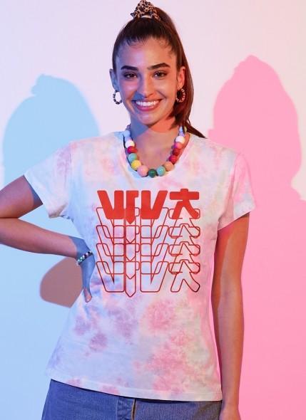 T-shirt Feminina Luan Santana Viva DVD