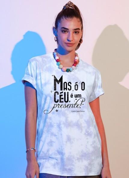 T-shirt Feminina Luan Santana Presente