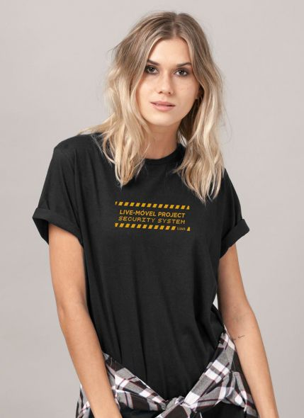 T-shirt Feminina Luan Santana Security System