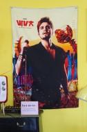Bandeira de Parede Luan Santana DVD Viva em Salvador Capa