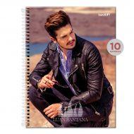 Caderno Luan Santana Color 200 folhas