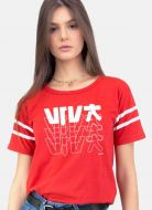 Camiseta Athletic Feminina Luan Santana Viva DVD