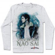 Camiseta de Manga Longa Luan Santana - Você de Mim Não Sai