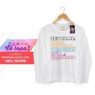 Camiseta Feminina de Manga Longa Luan Santana Cê Topa? 2