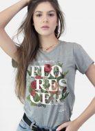 Camiseta Feminina Luan Santana Florescer