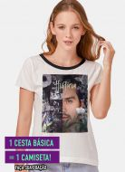 Camiseta Feminina Luan Santana Live História