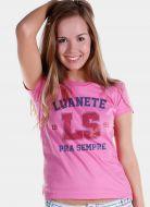 Camiseta Feminina Luan Santana LS Luanete 1991