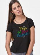 Camiseta Feminina Luan Santana Sempre com Você