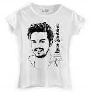 Camiseta Feminina Luan Santana Sketch