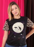 Camiseta Feminina Luan Santana Só pra Você e Eu