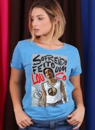 Camiseta Feminina Luan Santana Sofrendo feito um Louco