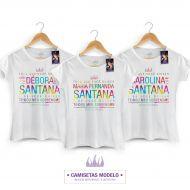 Camiseta Feminina Luan Santana - Tudo Que Você Quiser