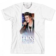 Camiseta Infantil Luan Santana - O Nosso Tempo e Hoje