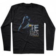 Camiseta Manga Longa Luan Santana - Te Esperando Black