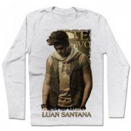 Camiseta Manga Longa Luan Santana - Te Vivo
