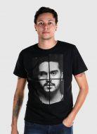 Camiseta Masculina Luan Santana Faces