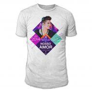 Camiseta Masculina Luan Santana - Um Brinde Ao Nosso Amor