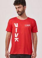 Camiseta Masculina Luan Santana Viva