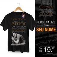Camiseta Masculina Luan Santana - Você Quer Mais Amor