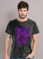 Camiseta Masculina Marmorizada Luan Santana Face Tour