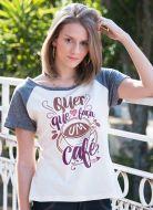 Camiseta Raglan Feminina Luan Santana Café