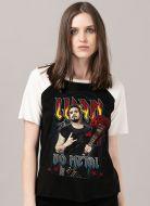 Camiseta Raglan Feminina Luan Santana Luan do Metal