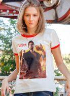 Camiseta Ringer Feminina Luan Santana DVD Viva em Salvador Capa