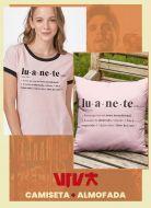 Combo Camiseta + Almofada Luan Santana Ser Luanete