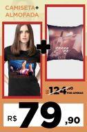 Combo Luan Santana Água com Açúcar Camiseta + Almofada
