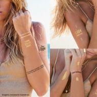 Gold Tattoo (Tatuagem) Luan Santana