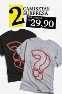 Kit 2 Camisetas Femininas SURPRESA