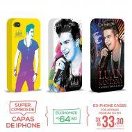 Kit Com 3 Capas de iPhone 4/4S Luan Santana - O Nosso Tempo é Hoje
