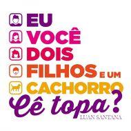 Moletom Com Capuz Preto Luan Santana Cê Topa?