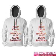 Moletom Luan Santana - Você Está Com Luan Santana