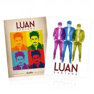 Combo PREMIUM Kit CD & DVD Luan Santana Acústico + Raglan Masculina