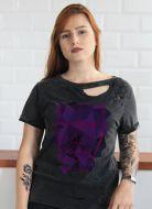T-shirt Feminina Destroyed Luan Santana Face Tour