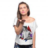 T-shirt Premium Feminina Luan Santana Triangle