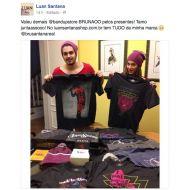 T-shirt Premium Masculina Luan Santana Feather
