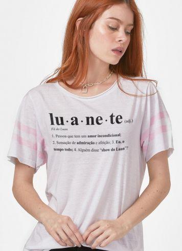 Camiseta Athletic Feminina Luan Santana Ser Luanete