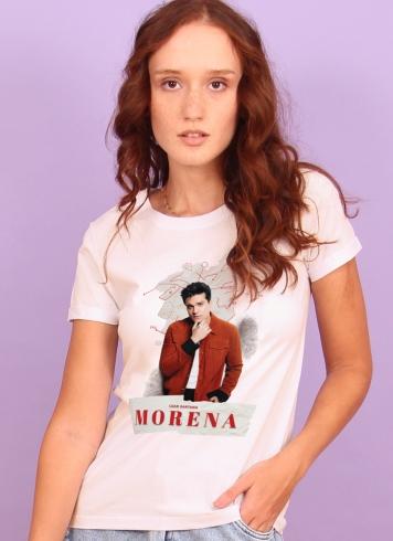 Camiseta Feminina Luan Santana Culpa da Morena