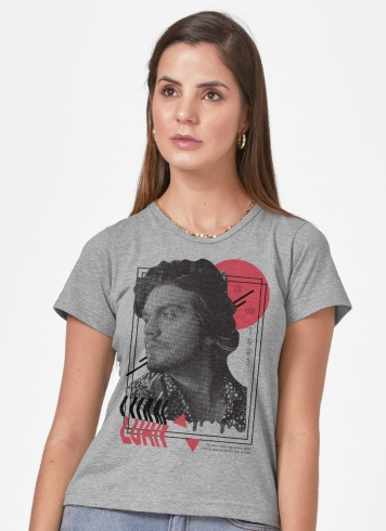Camiseta Feminina Luan Santana Luan 30 Anos