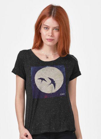 Camiseta Feminina Luan Santana Pra Viajar em Paz