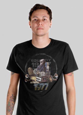 Camiseta Masculina Luan Santana Equality 1977