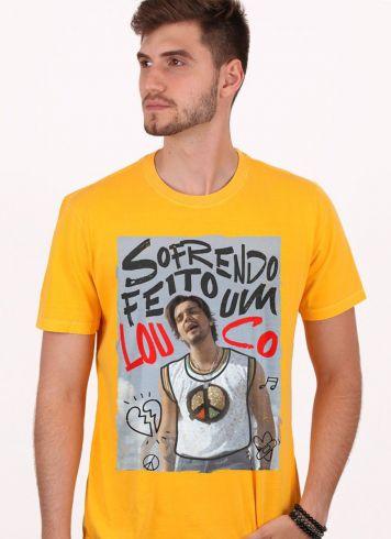 Camiseta Masculina Luan Santana Sofrendo feito um Louco