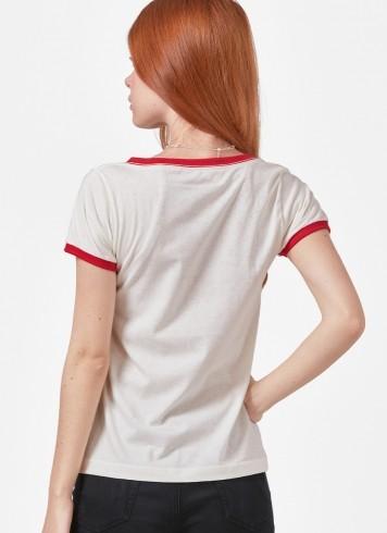 Camiseta Ringer Feminina Luan Santana É só uma Vida