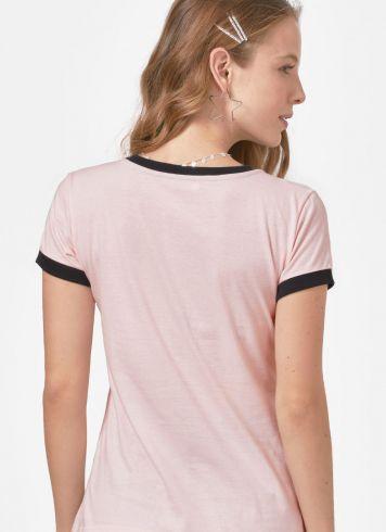 Camiseta Ringer Feminina Luan Santana Ser Luanete