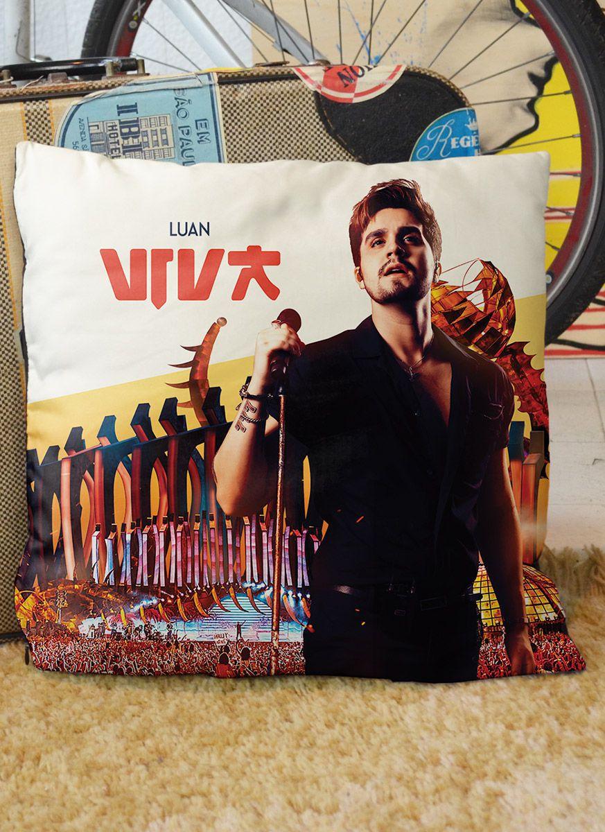 Almofada Luan Santana DVD Viva em Salvador Capa