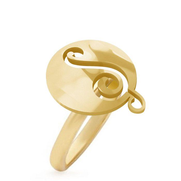 Anel Ouro Luan Santana - Logo